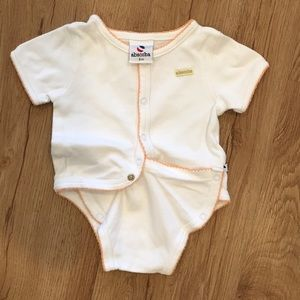 Absorba -3 months- smart snaps- 💯% cotton